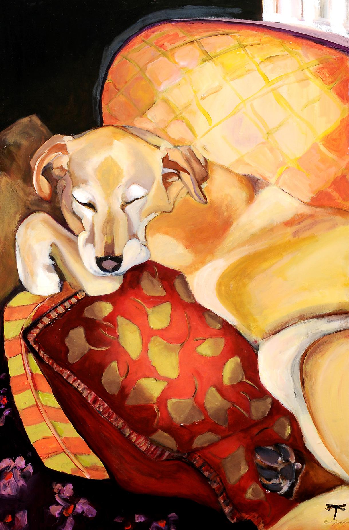 """Dreaming Again, acrylic on canvas 30x20"""""""