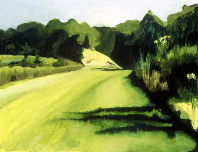 """Heading Home, acrylic on canvas24x30"""""""