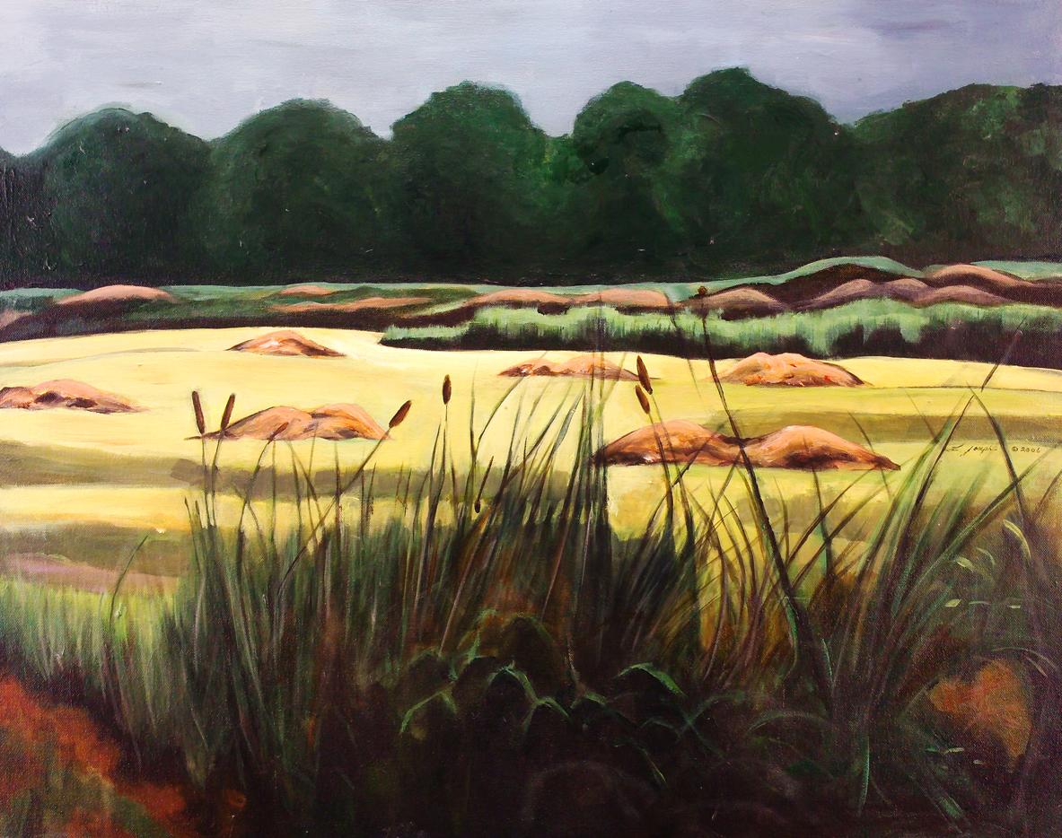 """Hiraeth, acrylic on canvas24x30"""""""