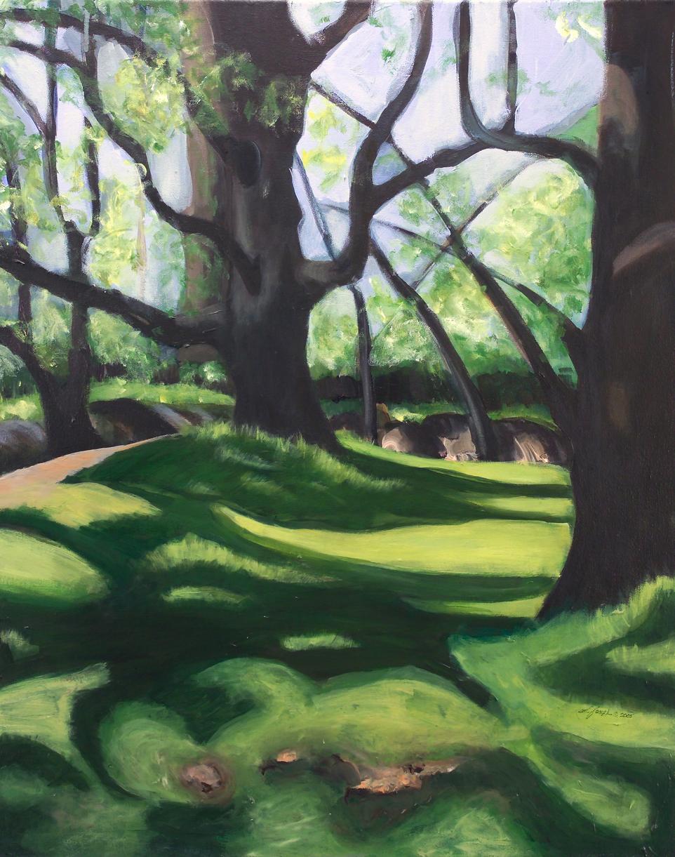 """Querencia, acrylic on canvas30x24"""""""