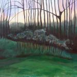 "Refugia, acrylic on canvas24x30"""