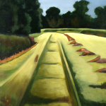 "The Beaten Path, acrylic on canvas30x24"""