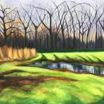 """The Rust, acrylic on canvas24x30"""""""
